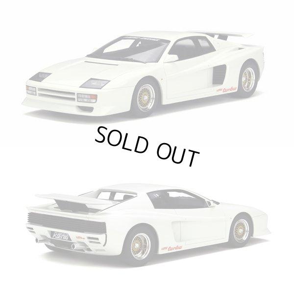 画像1: 1/18scale Koenig Testarossa Twin Turbo White