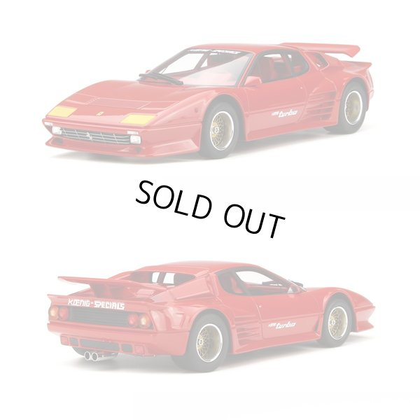 画像1: 1/18scale Koenig Special 512 BBi Turbo Red