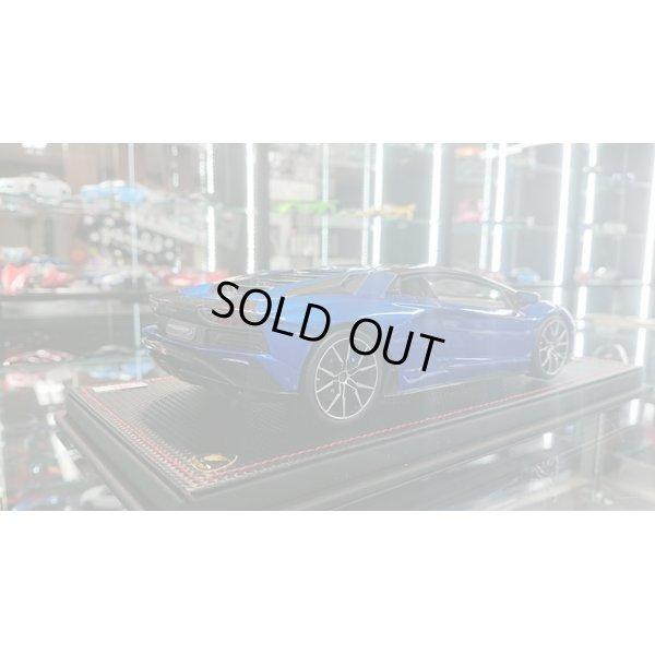 画像3: MR Collection 1/18 Lamborghini Aventador S Blu Elektra / Carbonium