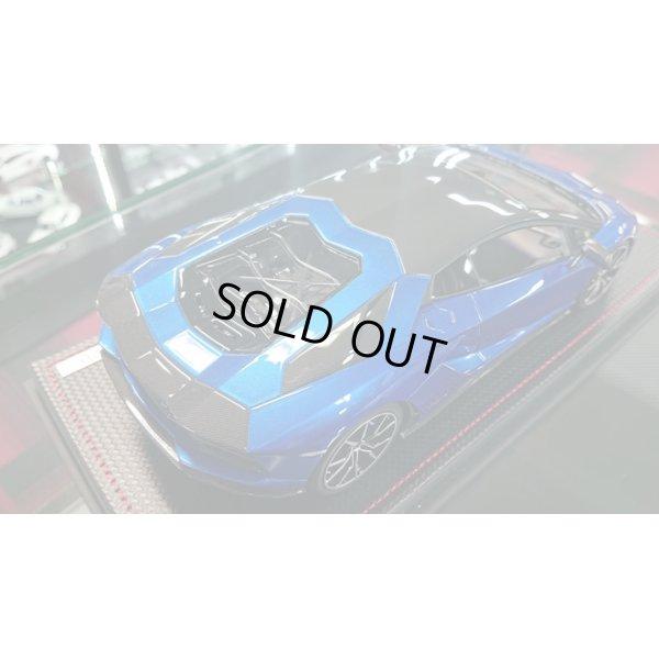 画像4: MR Collection 1/18 Lamborghini Aventador S Blu Elektra / Carbonium