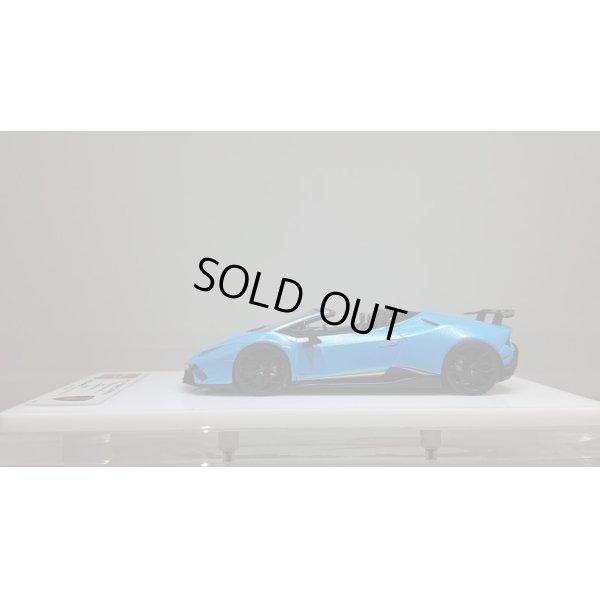 画像2: EIDOLON 1/43 Lamborghini Huracn Performante Spyder 2018 Azzurro Pearl Limited 25 pcs.