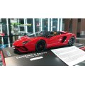 MR Collection 1/18 Lamborghini Aventador S Road Ster Rosso Mars Limited 49pcs.