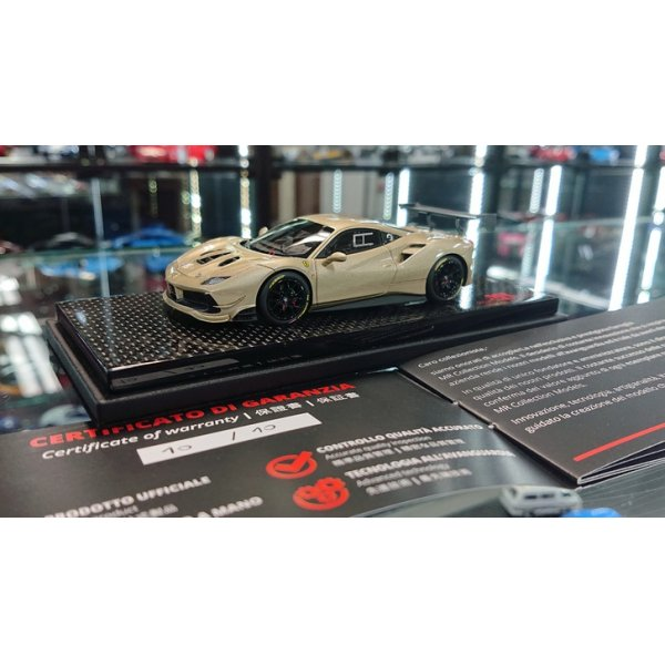 画像2: MR Collection 1/43 Ferrari 488 Challenge Metallc Goid Limited 10pcs.