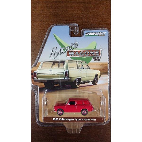 画像1: GREEN LIGHT 1:64 ESTATE WAGON SERIES 2 VW Type3 Panel Van