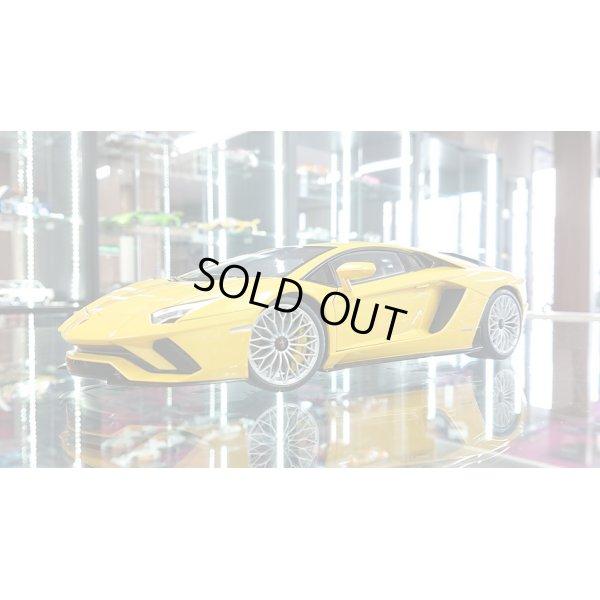 画像1: Autoart 1/18 Lamborghini Aventador S Yellow metallic