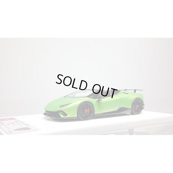 画像1: EIDOLON 1/43 Lamborghini Huracan Performante Spyder 2018 Mat Verde Giallo Limited 20pcs.