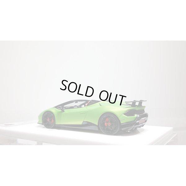 画像3: EIDOLON 1/43 Lamborghini Huracan Performante Spyder 2018 Mat Verde Giallo Limited 20pcs.