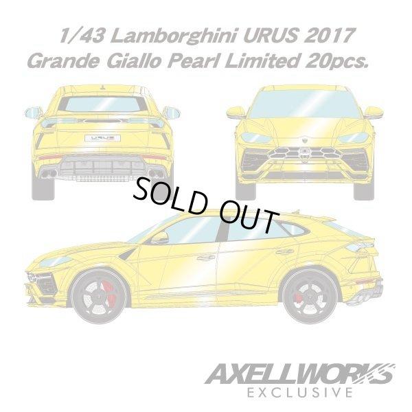 画像4: EIDOLON 1/43 Lamborghini URUS 2017 (NATH 22 inch Wheel) Grande Giallo Pearl Limited 20pcs.