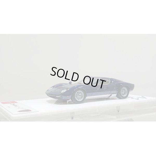 画像1: EIDOLON 1/43 Lamborghini Miura P400 SV 1971 Metallic Blue/Silver