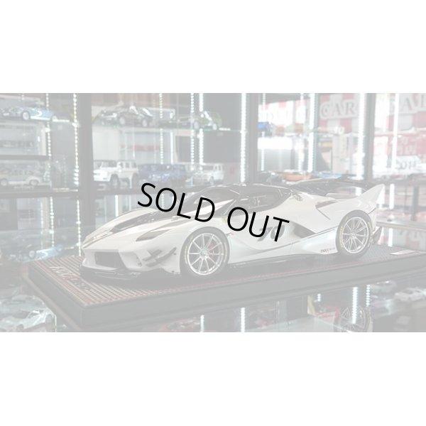 画像1: MR Collection 1/18 Ferrari FXX-K EVO Bianco Italia