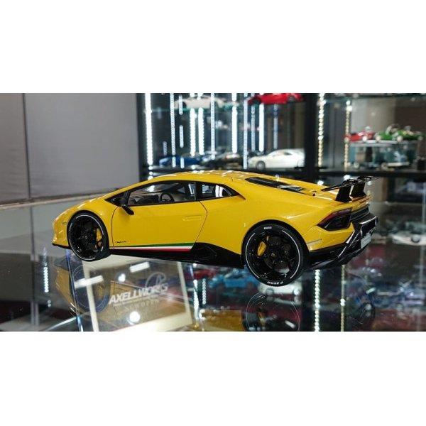 画像3: Autoart 1/18 Lamborghini Huracan Performante Giallo Inti/Pearl Effect Yellow