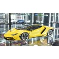 Autoart 1/18 Lamborghini Centenario NEW GIALLO ORION/METALLIC YELLOW