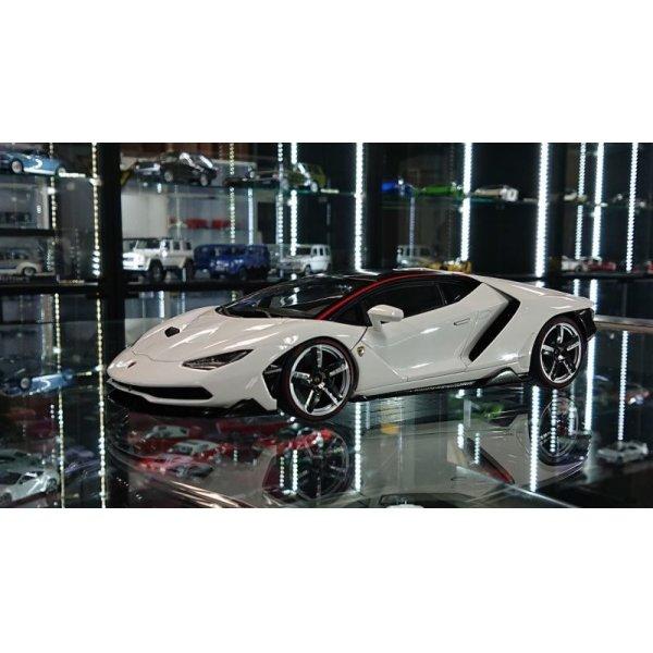 画像1: Autoart 1/18 Lamborghini Centenario BIANCO ISIS/SOLID WHITE