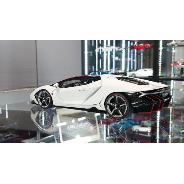 画像3: Autoart 1/18 Lamborghini Centenario BIANCO ISIS/SOLID WHITE