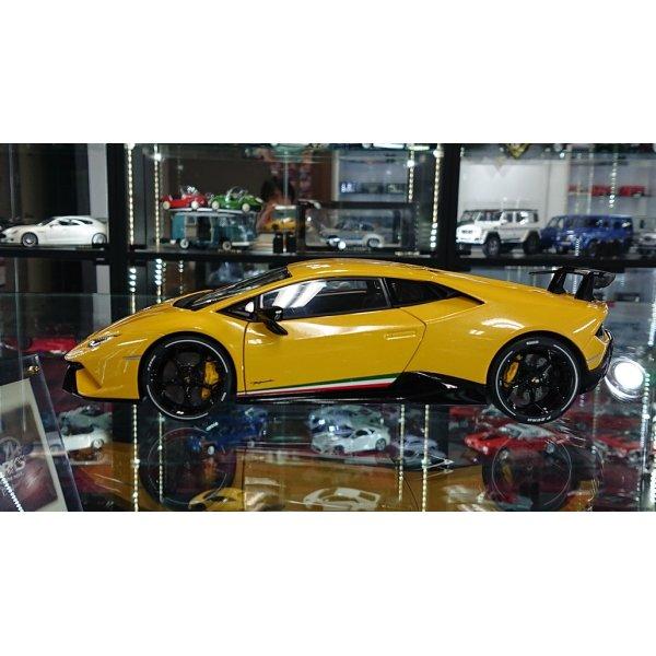 画像2: Autoart 1/18 Lamborghini Huracan Performante Giallo Inti/Pearl Effect Yellow
