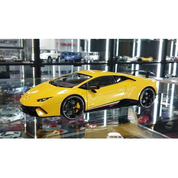 画像1: Autoart 1/18 Lamborghini Huracan Performante Giallo Inti/Pearl Effect Yellow