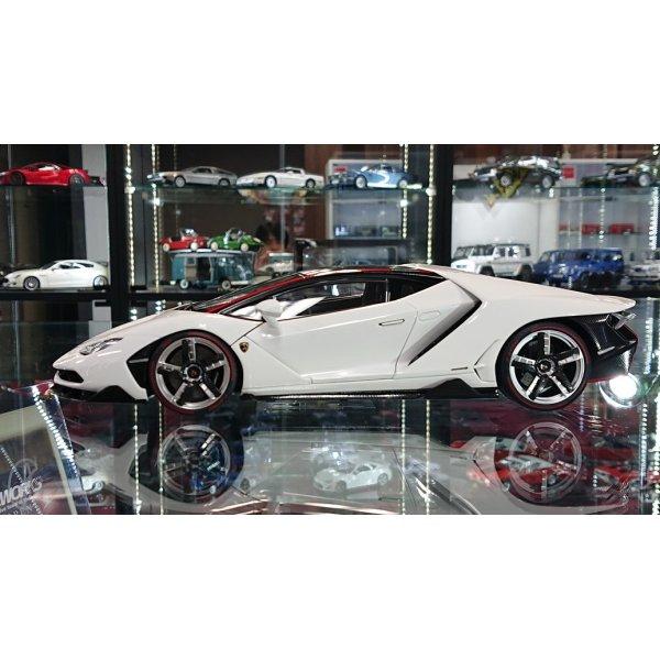 画像2: Autoart 1/18 Lamborghini Centenario BIANCO ISIS/SOLID WHITE