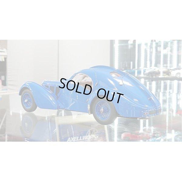 画像3: Autoart 1/18 BUGATTI 57S ATLANTIC 1938 Blue / With Blue Metal Wire  Spoke Wheels
