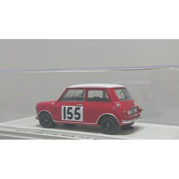 画像3: Spark model Morris Cooper n°155 Monte Carlo Rally 1963