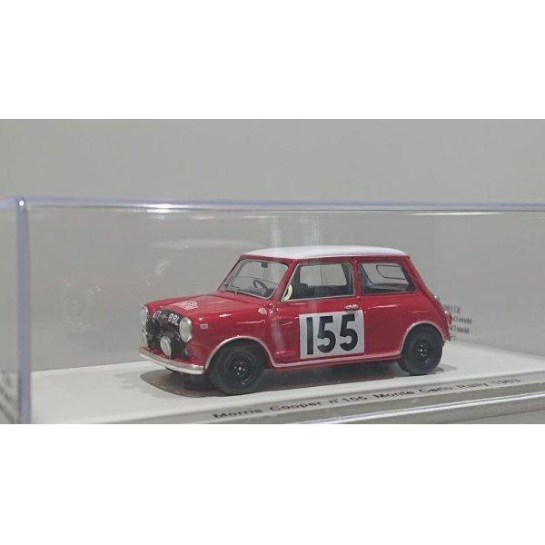 画像1: Spark model Morris Cooper n°155 Monte Carlo Rally 1963