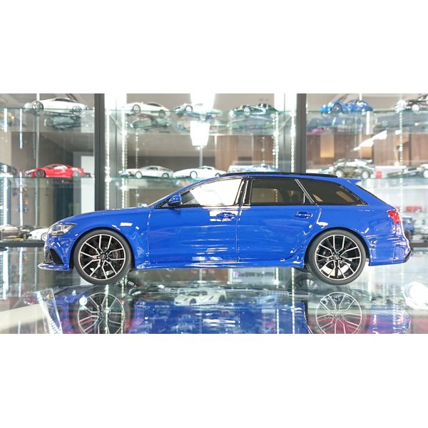 画像2: GT Spirit 1/18 AUDI RS6 Performance Nogaro Edition Blue