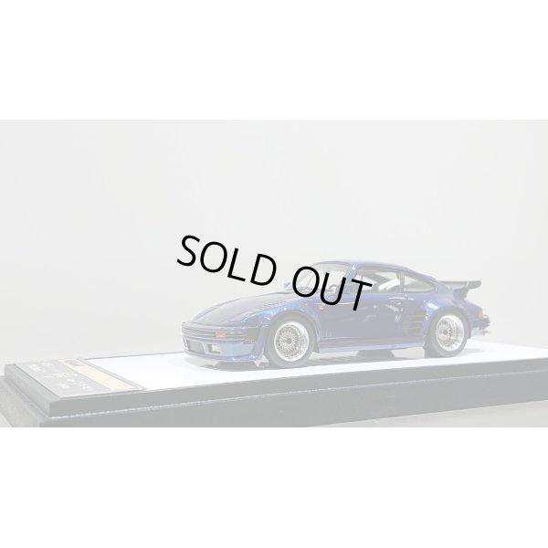 画像1: VISION 1/43 Porsche 911 turbo Type 930 1988 Flat Nose BBS wheel ver. Metallic Dark Blue