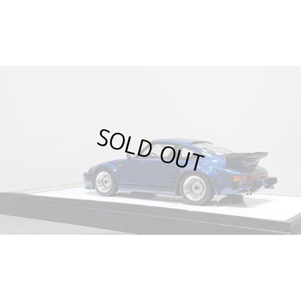 画像3: VISION 1/43 Porsche 911 turbo Type 930 1988 Flat Nose BBS wheel ver. Metallic Dark Blue