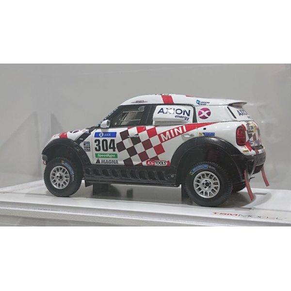 画像3: TMS 1/43 MINI ALL4 Racing #304 Dakar Rally AXION X-raid Team