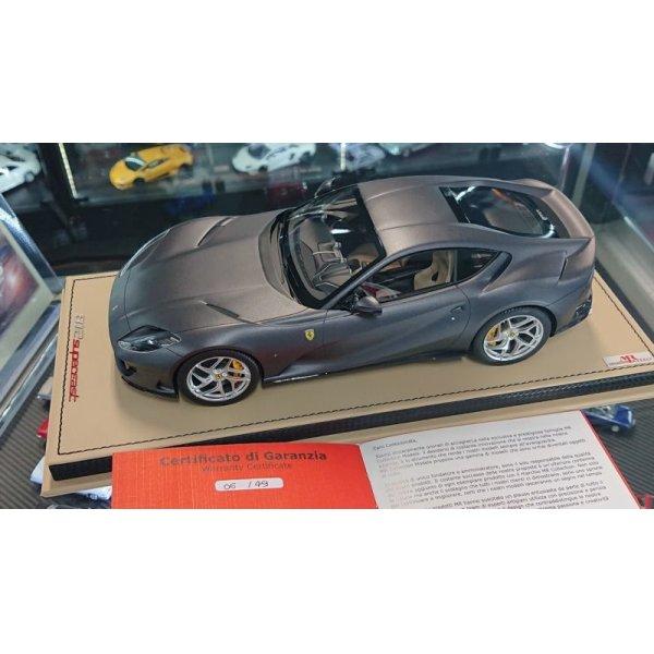 画像4: MR Collection 1/18 Ferrari 812 Superfast Grigio Caido Opaco Matt Limited 49pcs.