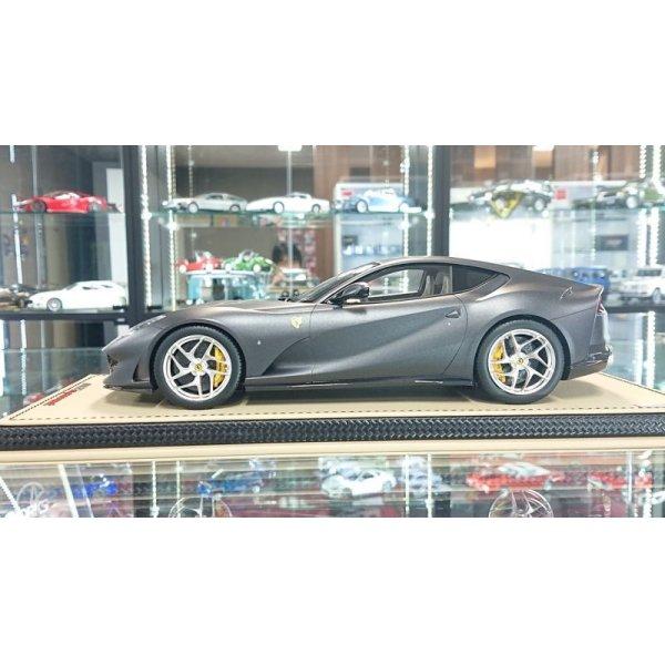 画像2: MR Collection 1/18 Ferrari 812 Superfast Grigio Caido Opaco Matt Limited 49pcs.