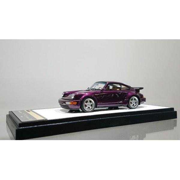 画像1: VISION 1/43 Porsche 911(964) Turbo 3.6 1993 Amethyst Metallic