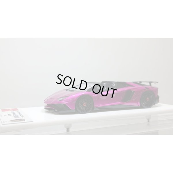 画像1: EIDOLON 1/43 Lamborghini Aventador LP750-4 SV Roadster 2015 Candy Purple Limited 50pcs.