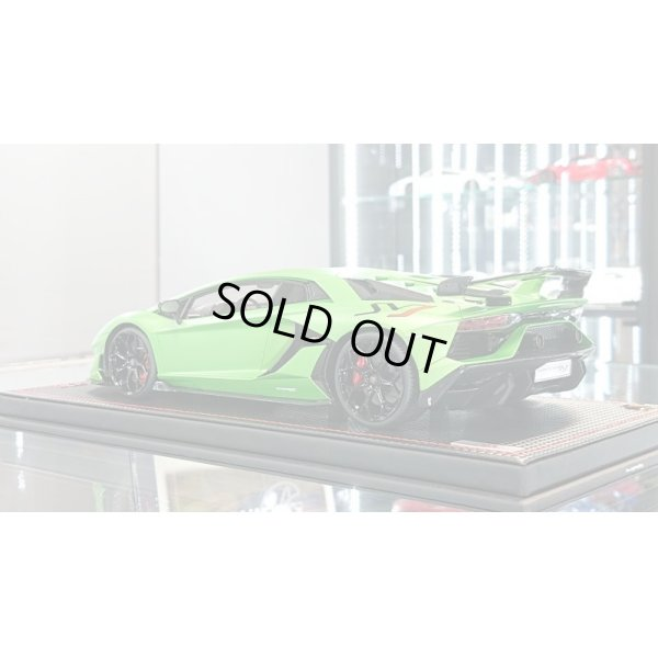 画像3: MR Collection 1/18 Lamborghini Aventador SVJ Verde Alceo Limited 99pcs.
