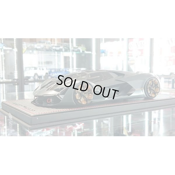 画像1: MR Collection 1/18 Lamborghini Terzo Millenio Matt Grey