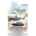 GREEN LiGHT 1:64 Estate WAGON Series 3 '55 Chevrolet Two-Ten Handyman