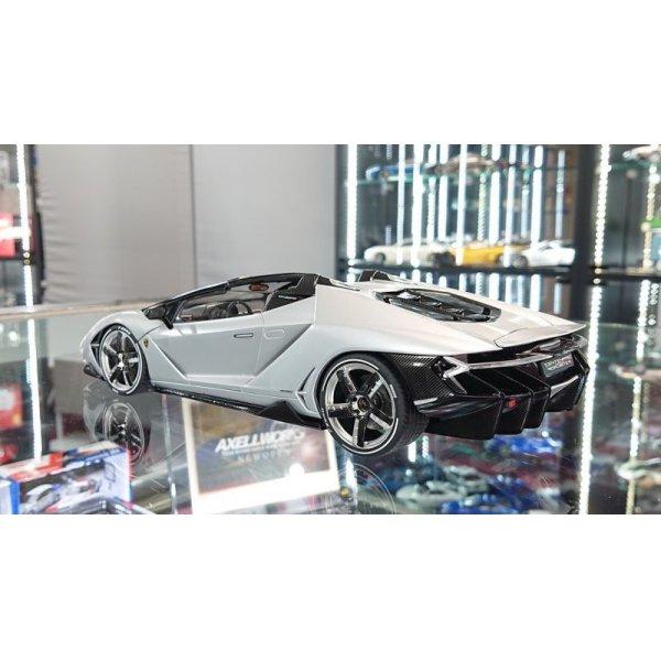 画像3: Autoart 1/18 Lamborghini Centenario Roadster Matt Silver