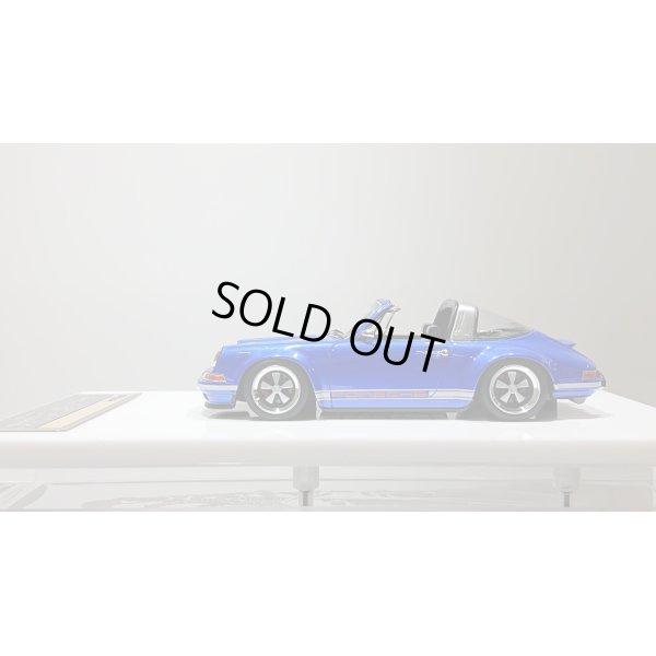 画像2: VISION 1/43 Singer Porsche 911(964) Targa Lobellia Blue Limited 30pcs.