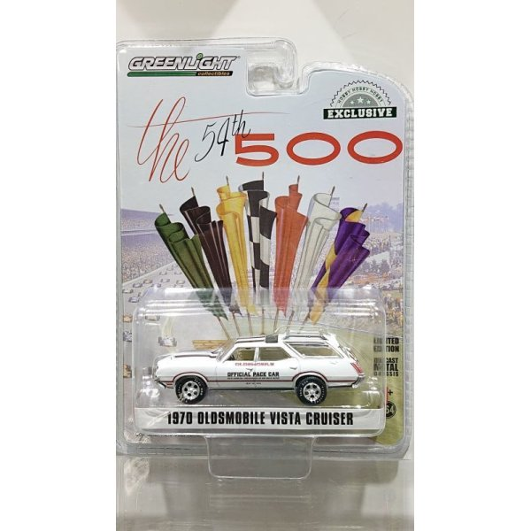 画像1: GREEN LiGHT 1:64 EXCLUSIVE '70 OLDSMOBILE VISTA CRUISER INDY 500 OFFICIAL PACE CAR