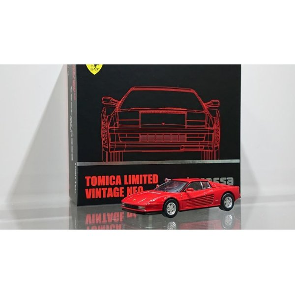 画像1: TOMYTEC 1/64 FERRARI Ferrari Testarossa Red