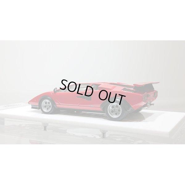 """画像3: EIDOLON 1/43 Lamborghini Countach LP400/500S """"Walter Wolf"""" Ch.1120148 1975 (Remasterd) Red デカール無"""