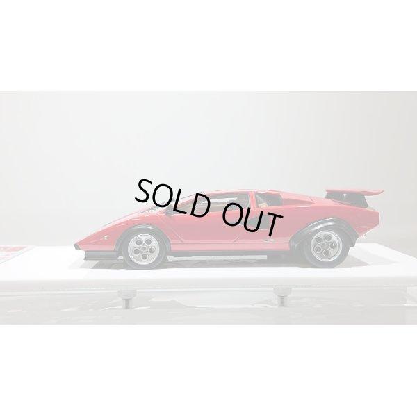 """画像2: EIDOLON 1/43 Lamborghini Countach LP400/500S """"Walter Wolf"""" Ch.1120148 1975 (Remasterd) Red デカール無"""
