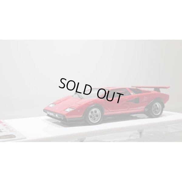 """画像1: EIDOLON 1/43 Lamborghini Countach LP400/500S """"Walter Wolf"""" Ch.1120148 1975 (Remasterd) Red デカール無"""