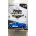 GREEN LiGHT 1:64 DUALLY DRIVERS Series 1 '18 CHEVROLET SILVERADO 3500 HD