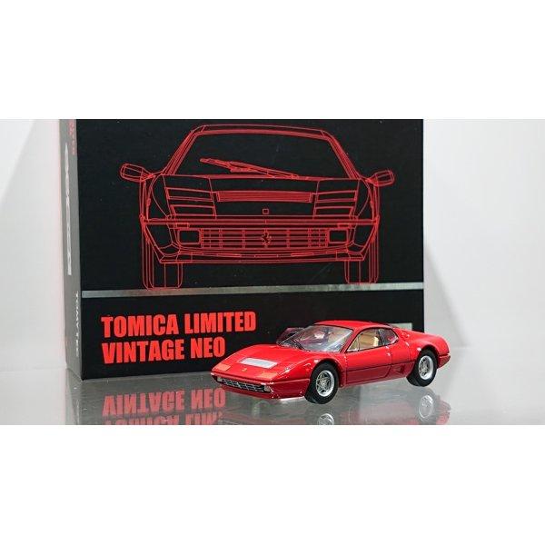 画像1: TOMYTEC 1/64 Limited Vintage NEO Ferrari 512 BBi red