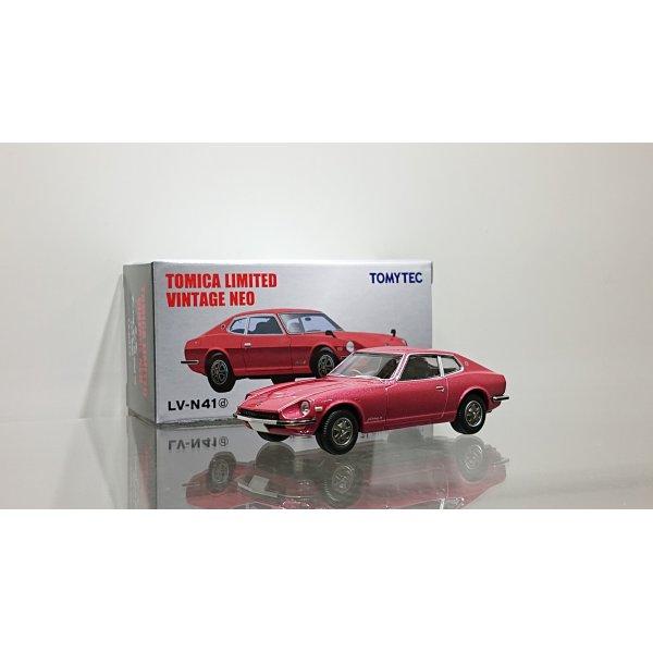 画像1: TOMYTEC 1/64 Limited Vintage Nissan Fairlady Z-L 2 by 2 '77 Wine