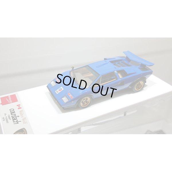 "画像4: EIDOLON 1/43 Lamborghini Countach LP500S ""Walter Wolf"" Ch.1120202 1976 (Remasterd) Blue Elf"