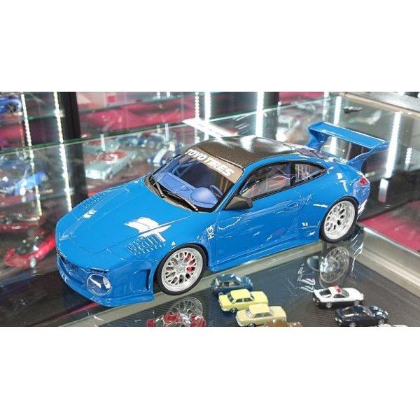 画像4: GT Spirit 1/18 Old & New Body kit Blue