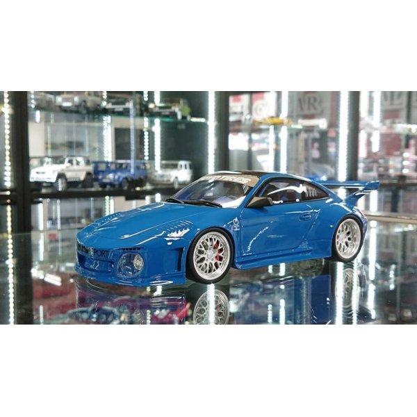 画像1: GT Spirit 1/18 Old & New Body kit Blue