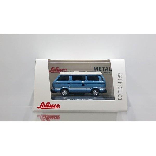 画像1: Schuco 1/87 VW T3b Joker Blue