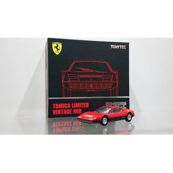 画像1: TOMYTEC 1/64 Limited Vintage NEO Ferrari 365 GT4 BB Red / Black